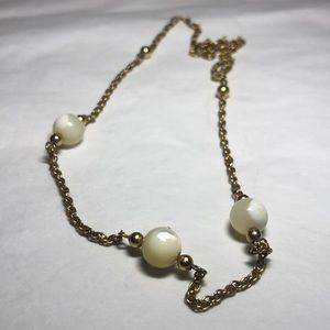 Jewelry - 14k GF Mother of Pearl Necklace